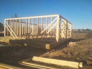 Строительство дома 9*11