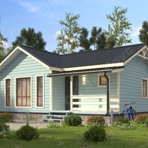 проект одноэтажного особняка